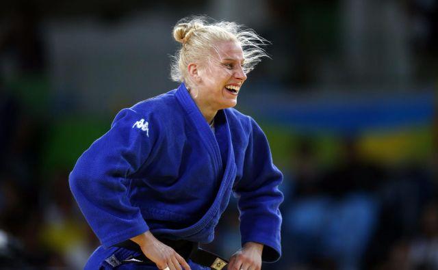 Ana Velenšek je izgubila proti favorizirani tekmici. FOTO: Matej Družnik