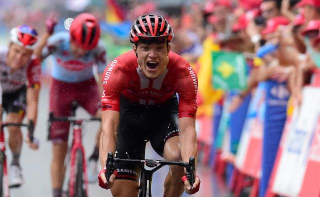Nemec Nikias Arndt je zmagovalec 8. etape dirke po Španiji. Foto: AFP