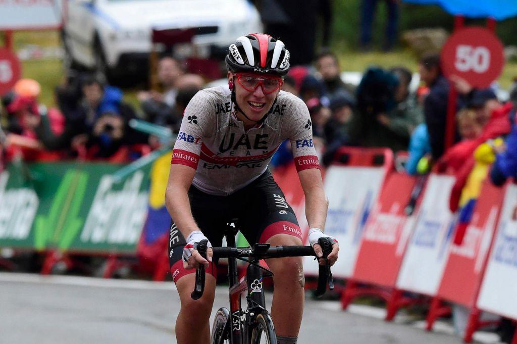 Pogačar je zmagovalec devete etape na Vuelti