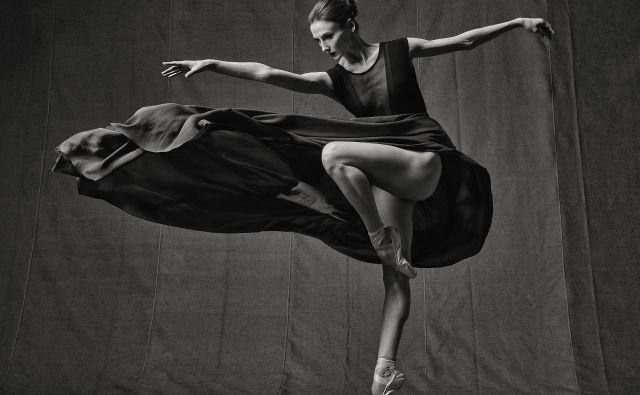Klasično izobražena plesalka je odprta tudi za inovativne, eksperimentalne baletne projekte. Foto Arhiv Ljubljana Festivala