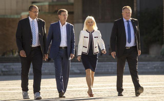 Cerar je umik z vrha stranke napovedal junija, po slabem rezultatu SMC na majskih evropskih volitvah. FOTO: Voranc Vogel/Delo