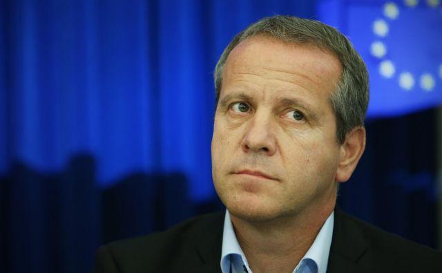 Igor Šoltes je kolateralna škoda v aferi, ki je odnesla generalnega sekretarla LMŠ Braneta Kralja. FOTO: Jure Eržen
