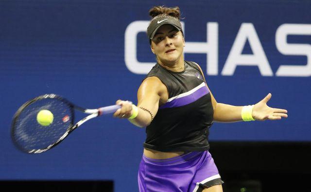 Bianca Andreescu v tej sezoni navdušuje teniški svet.<br /> FOTO: USA Today Sports