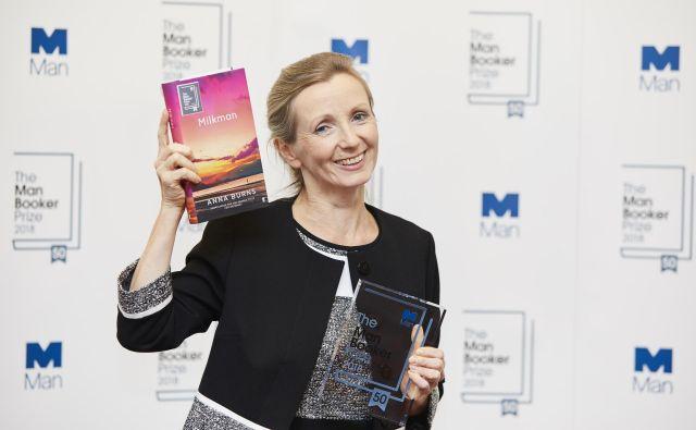 Lani je nagrado booker prejela Anna Burns za roman <em>Mlekar</em>. FOTO: Booker Prize