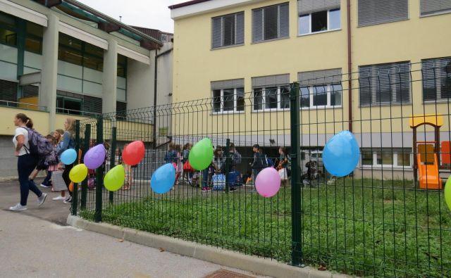 V šolskem prizidku je zdaj dovolj prostora za vse uka željne učence. Foto Bojan Rajšek