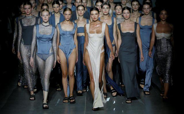 September je za modno industrijo nadvse pomemben mesec, začelo se je z modnim tednom v Ukrajini. FOTO: Reuters