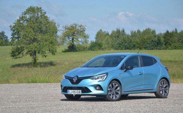 Renault clio pete generacije začenja svojo tržno pot. Foto Gašper Boncelj