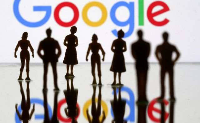 FILE PHOTO: Small toy figures are seen in front of Google logo in this illustration picture, April 8, 2019. REUTERS/Dado Ruvic/Illustration/File Photo Foto Dado Ruvic Reuters