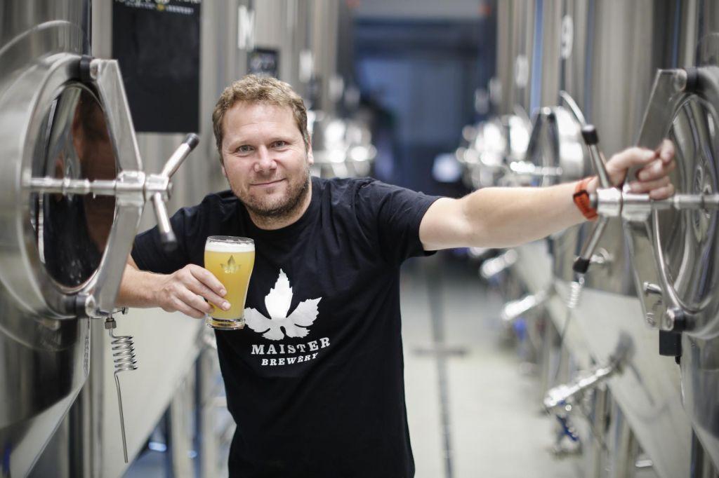FOTO:Iz laboratorija v pivovarno