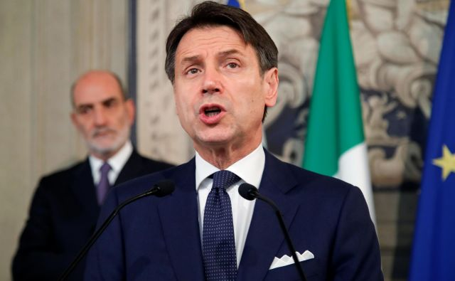 Giuseppe Conte bo pod seboj imel 20 ministrov. FOTO: Reuters