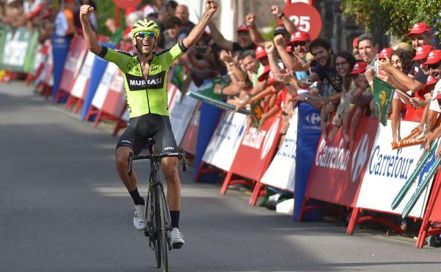 Mikel Iturria je zmagovalec 11. etape dirke po Španiji.
