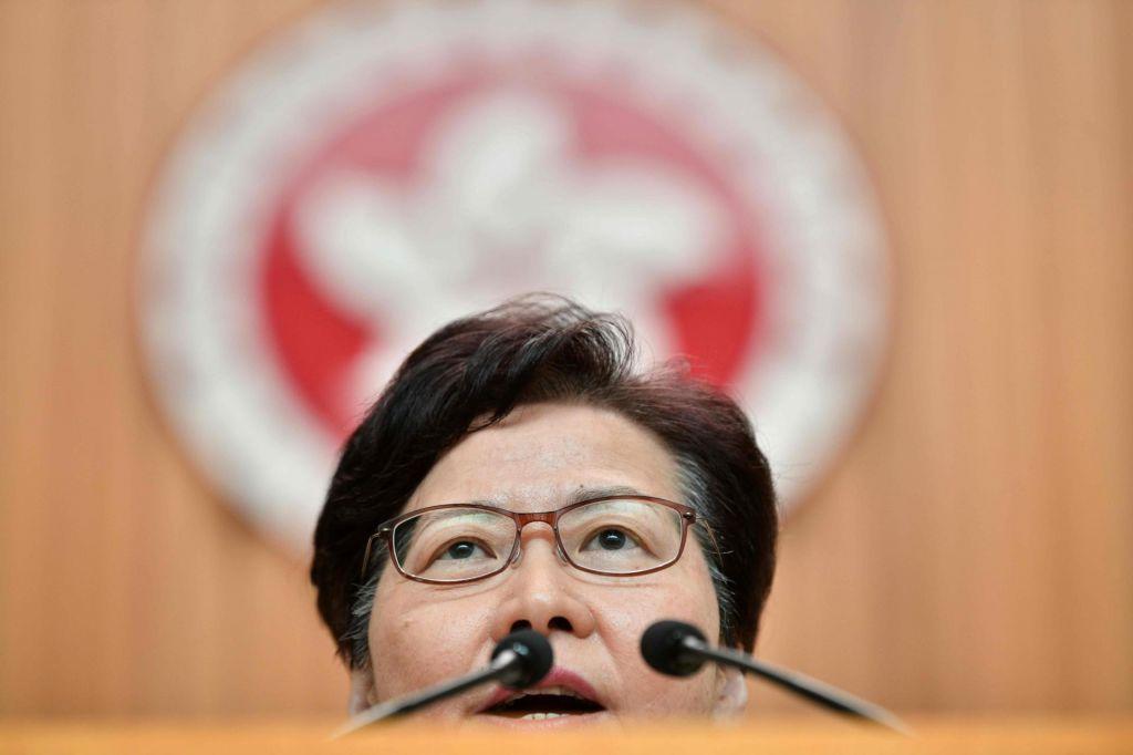 Carrie Lam bo uradno umaknila zakon o izročitvi osumljencev