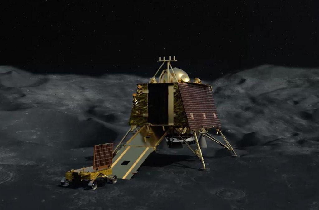 Indijcem se pristanek na Luni kot kaže ni posrečil