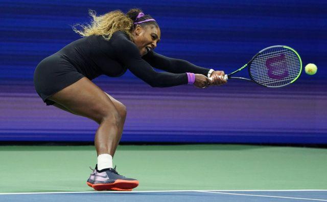 Serena Williams bo v desetem finalu OP ZDA lovila sedmo domačo lovoriko, skupno pa že 24. FOTO: AFP