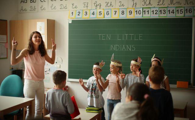 Osebnost učitelja, vzgojitelja je vedno v središču vzgoje. FOTO: Jure Eržen