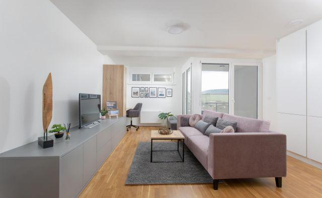 V kompleksu Koprska vrata lahko na e-dražbi kupite stanovanje. Foto: DUTB
