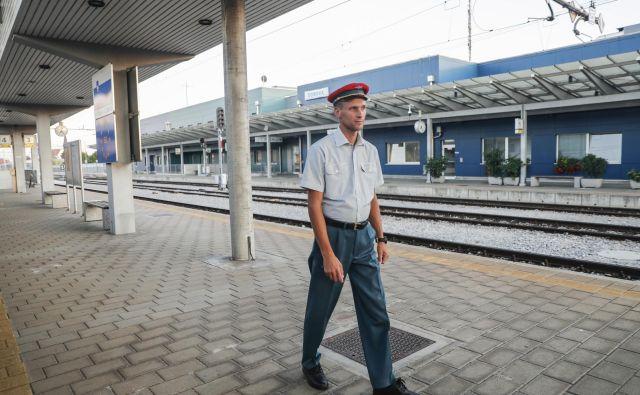 Železniška postaja Dobova FOTO: Uroš Hočevar/Delo