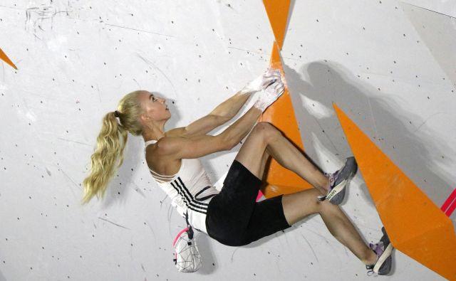 Urška Repušič je z naslovom evropske prvakinje na balvanih dosegla rezultat kariere. FOTO: Manca Ogrin