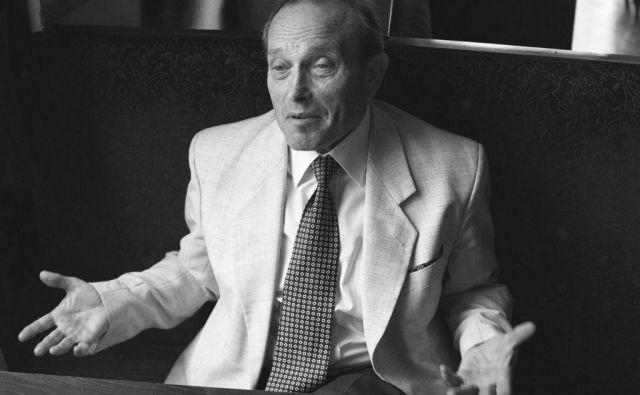 Stane Mancini je umrl v 89. letu starosti. FOTO: Arhiv Dela