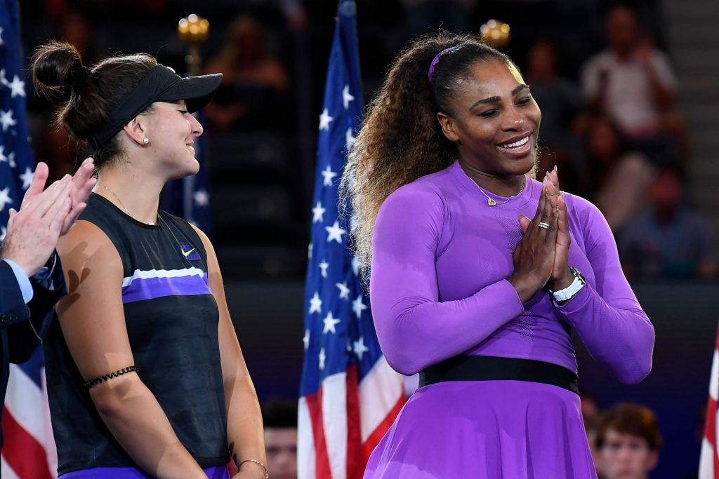 FOTO:Serena Williams »klecnila« pred 19-letno Bianco Andreescu