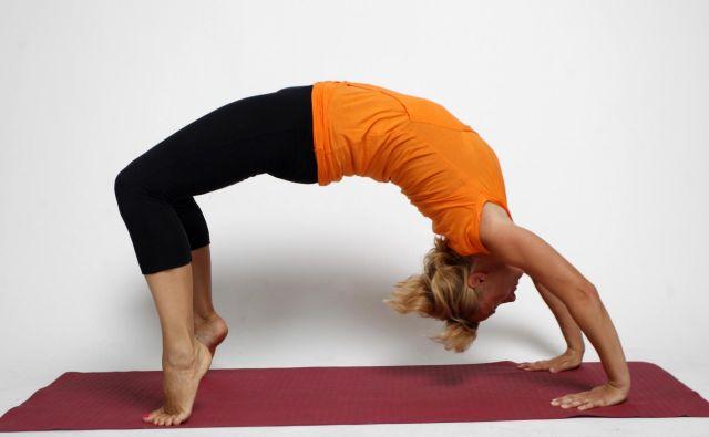 Brigita Langerholc pravi, da sta športna rekreacija in meditacija idealen par za zdravo življenje. FOTO: Mavric Pivk/Delo