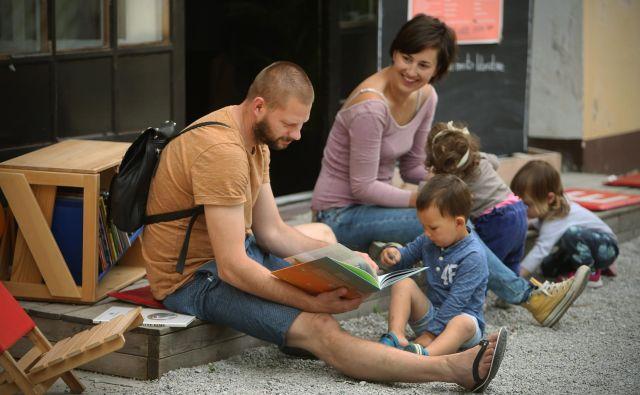 Z akcijo se bo Slovenija pridružila tudi evropski bralni kampanji EUReads (Evropa bere).FOTO: Jure Eržen/Delo