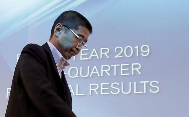 Saikawa (na fotografiji) bo položaj uradno zapustil prihodnji ponedeljek. FOTO: Issei Kato/Reuters