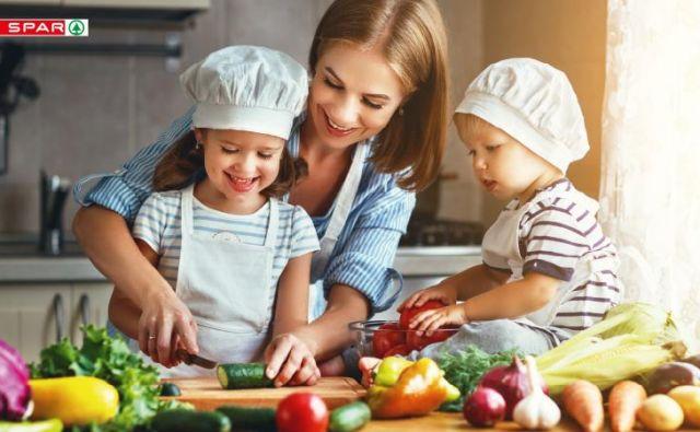 Uravnotežena prehrana poskrbi za dobro počutje. Foto: Spar