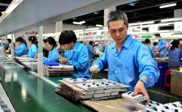 Danes večino Li-ionskih baterij izdelajo na Kitajskem, Evropa pa si prizadeva povečati lastno proizvodnjo.<br /> FOTO: Reuters