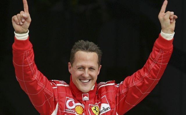 Michael Schumacher je zbral rekordnih sedem naslovov svetovnega prvaka v formuli 1. FOTO: Reuters