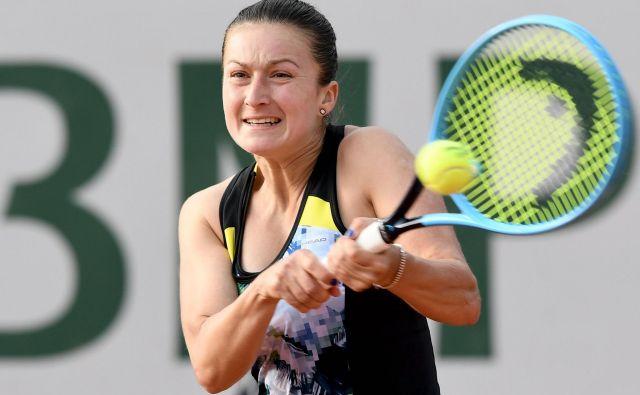 Dalila Jakupović je dosegla šele drugo zmago na turneji WTA v štirih mesecih. FOTO: AFP
