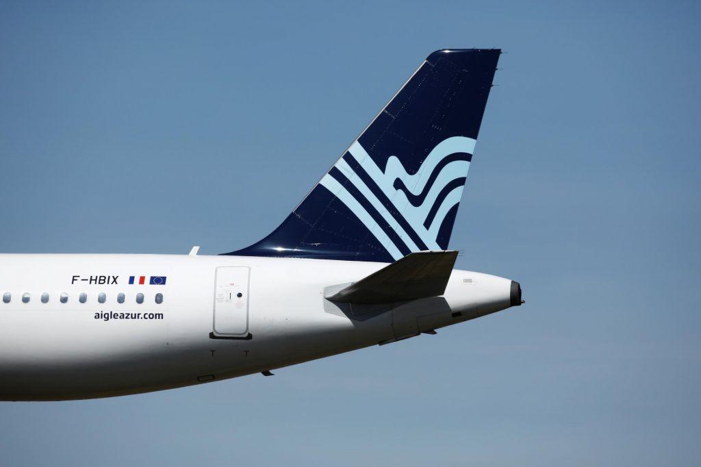 Bankrotiral je francoski letalski prevoznik Aigle Azur