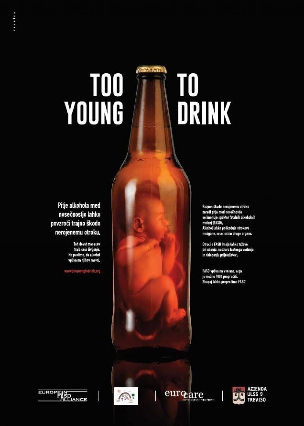 Ne alkoholu med nosečnostjo!