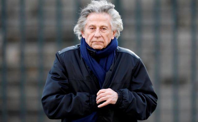 Leta 1977, ko je bil star 44 let, je bil Polanski obtožen posilstva 13-letne Samanthe Geimer. FOTO: Charles Platiau/Reuters