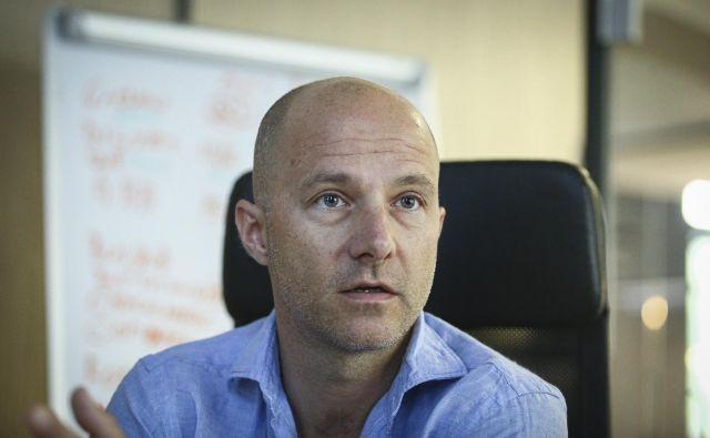 Marjan Beltram, izvršni direktor za turizem in storitve mobilnosti v družbi Nomago<br /> Foto Jože Suhadolnik