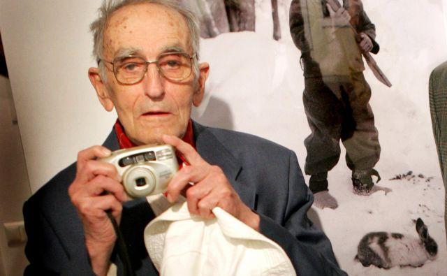 Edi Šelhaus, vedno s fotoaparatom.<br /> Foto: Jure Eržen
