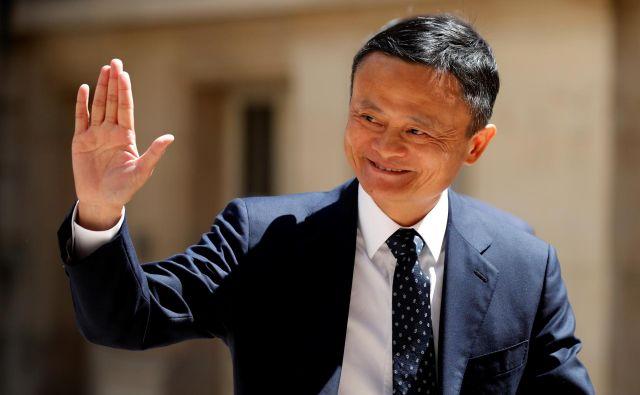 Jack Ma je ustanovil spletno trgovino Alibaba leta 1999. FOTO: Charles Platiau/Reuters