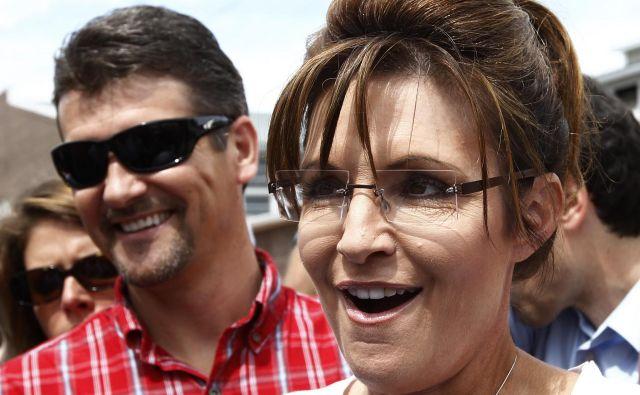 Sarah in Todd Palin sta bila že nekaj let nezadovoljna v zakonu. FOTO: Jim Young/Reuters