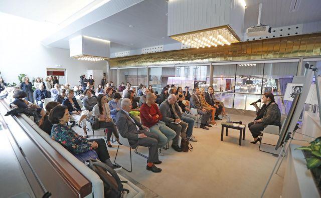 Predstavitev nove sezone Cankarjevega doma v prenovljeni Stekleni dvorani Lili Novy Fotografiji Leon Vidic