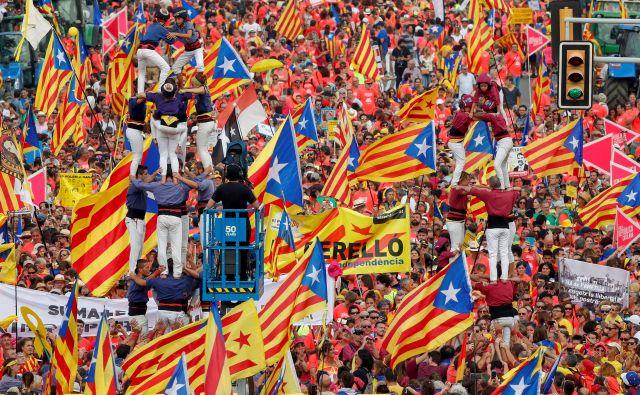 Na ulicah Barcelone letos pričakujejo manj ljudi kot prejšnja leta.<br /> Foto Reuters