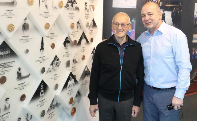 Miroslav Cerar (levo) bo vodil slovenske olimpijce prihodnje leto v Tokiu. FOTO: Dejan Javornik