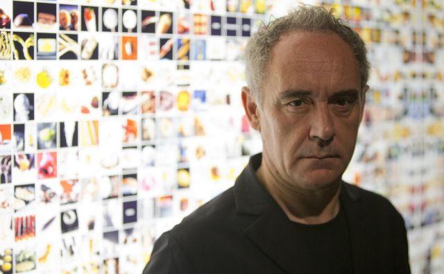 Chef Ferran Adrià: »Šov se spet začenja!«<br /> Foto Reuters