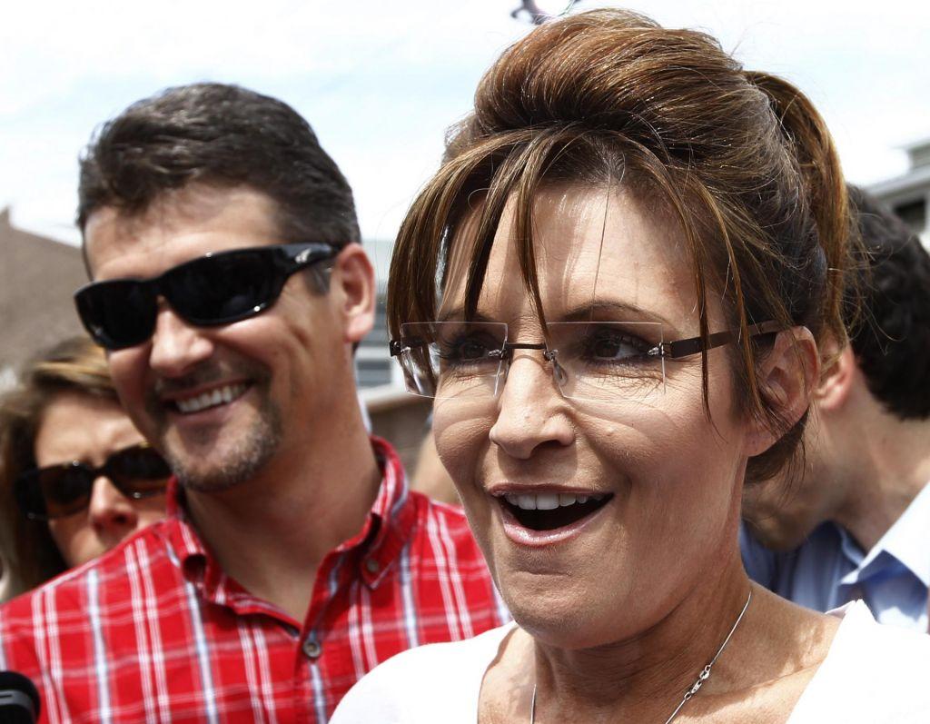 Mož Sarah Palin zahteval ločitev
