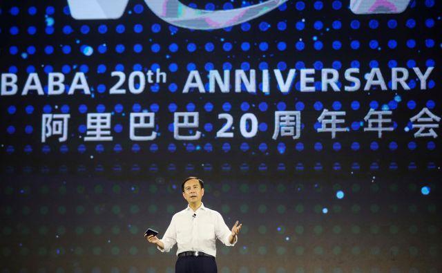 Imenujejo ga <em>xiaoyaozi</em>, kar pomeni &#39;svoboden in samosvoj&#39;. Daniel Zhang prihaja na vrh Alibabe. FOTO: AFP