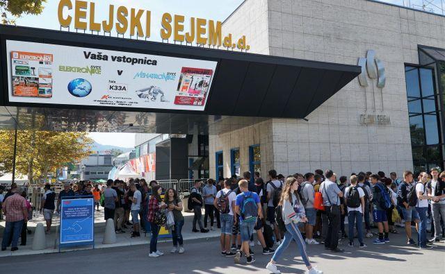 Organizatorji pričakujejo do nedelje, 15. septembra, približno 100.000 obiskovalcev. Foto Brane Piano/Delo