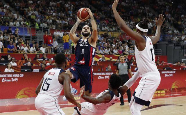 Evan Fournier je bil pretrd oreh za ameriško reprezentanco. FOTO: Reuters