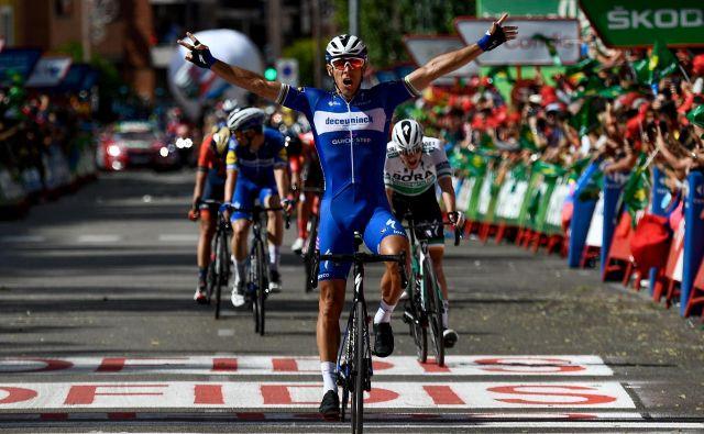 Philippe Gilbert, druga zmaga na letošnji Vuelti. Foto: AFP