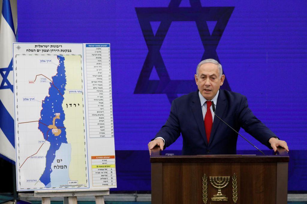 Arabske države obsojajo Netanjahujevo napoved širitve Izraela