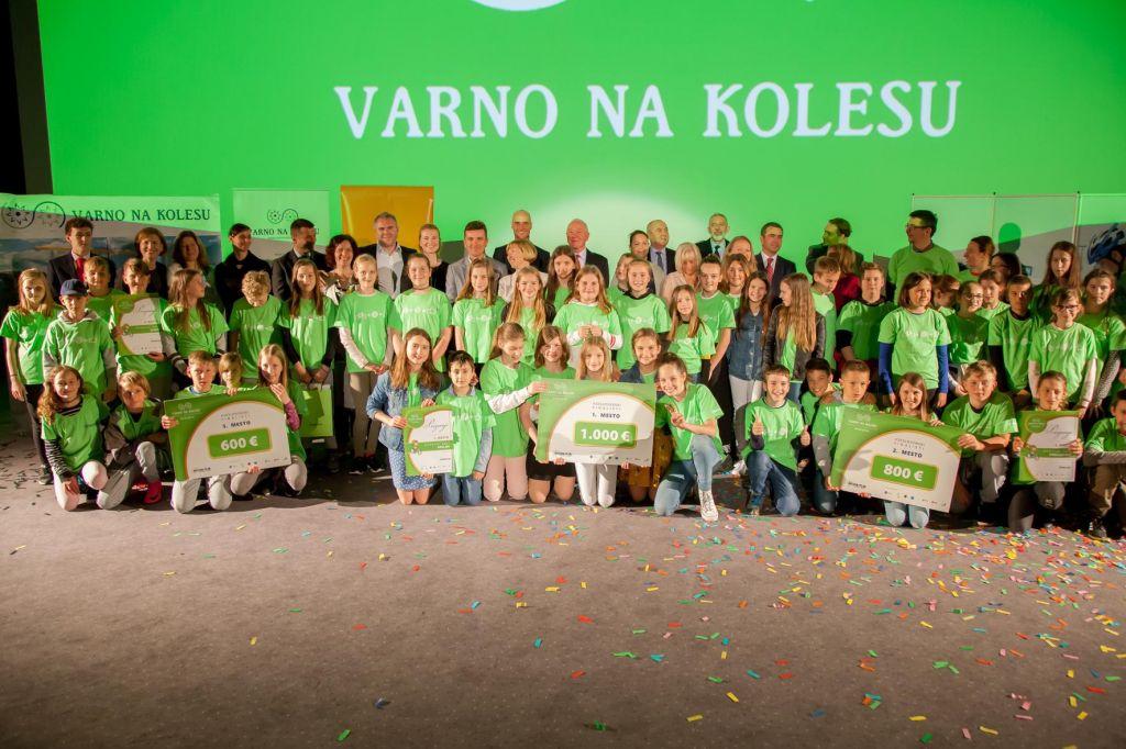 Novo šolsko leto, nova akcija Varno na kolesu