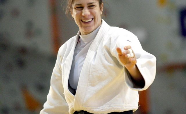 Raša Sraka Vuković se je leta 2003 v Düseldorfu v zgodovino vpisala kot prva slovenska evropska prvakinja v judu. FOTO: Roman Šipić
